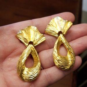 Vintage Golden Earrings